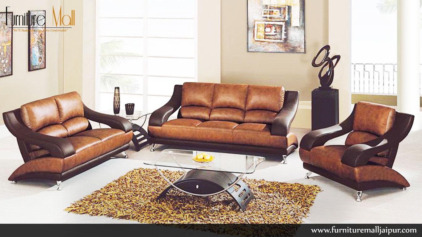 Furniture Mall Jaipur S Handle Design Sofa Set